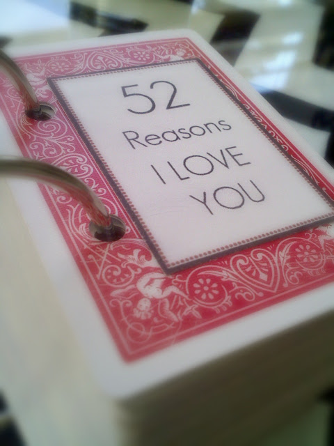52 reasons i love you cards tutorial for 52 reasons why i love you cards templates free