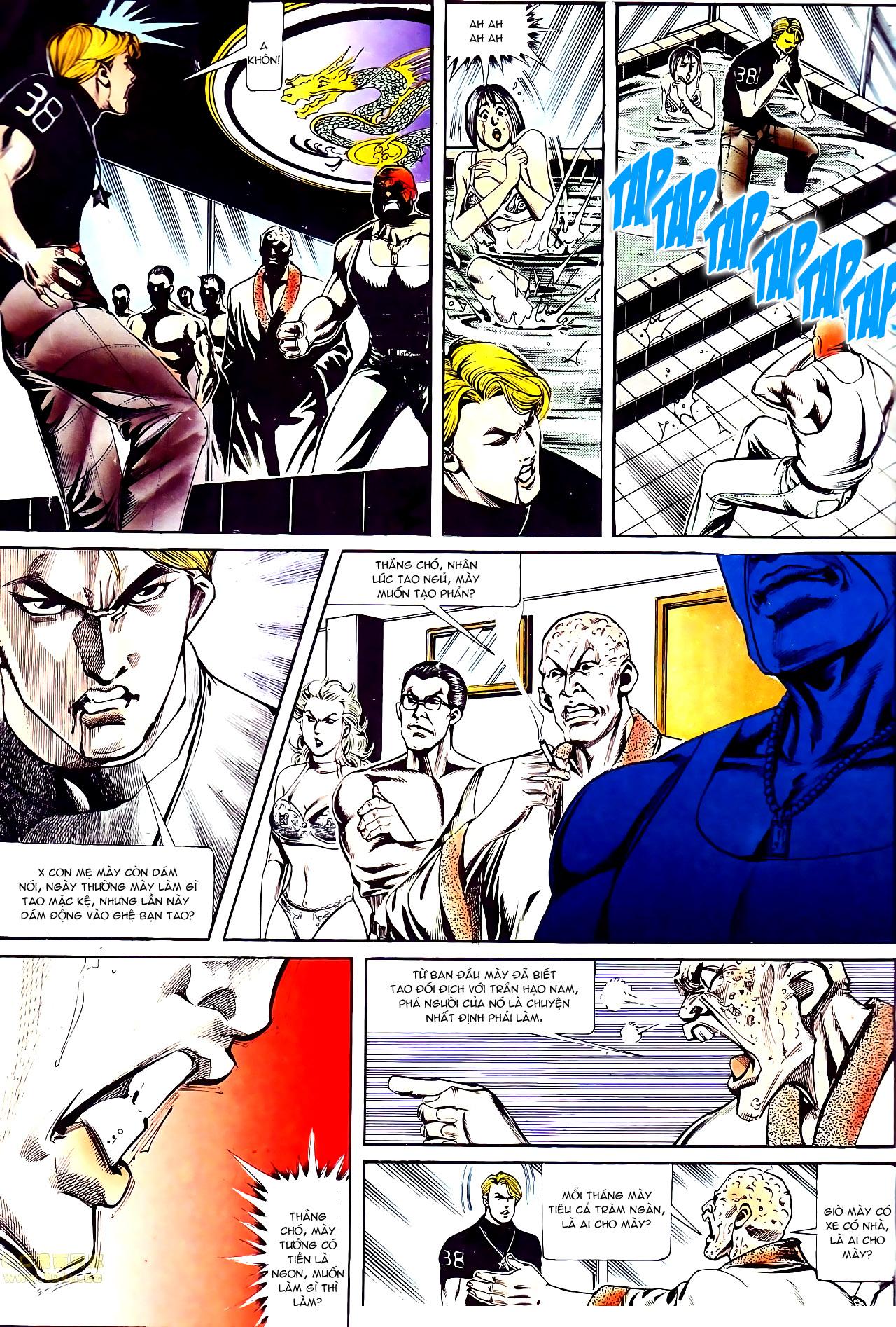 Người Trong Giang Hồ chapter 141: chính khí lẫm liệt trang 4