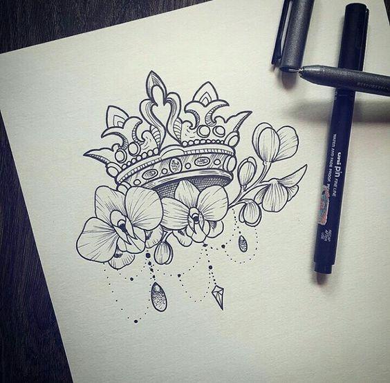 Tatuajes Coronas De Princesas
