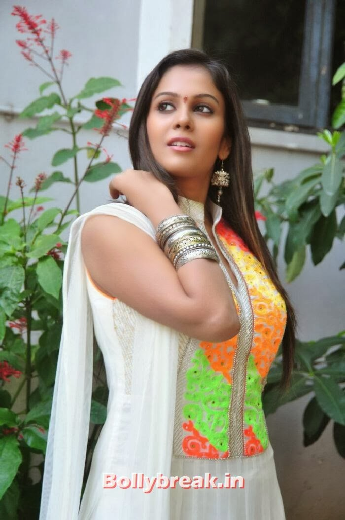 Chandini Latest Photos in Salwar Kameez at Kiraak Movie Opening, South Actress Chandini Photoshoot