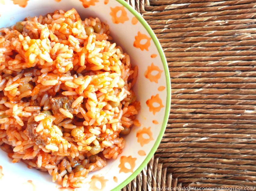 arroz con tuco