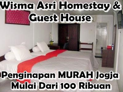 Kamar Murah Harian Dan Guest House Luas Di Jogja