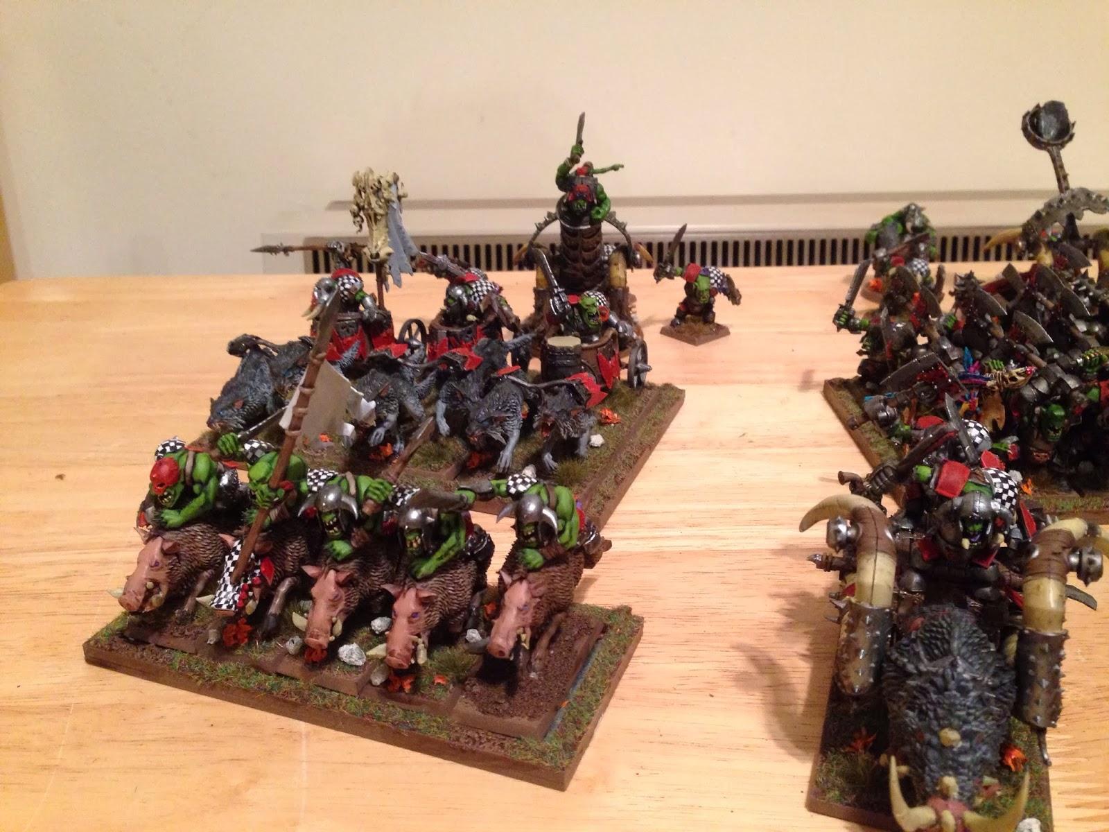 Urgat Ripeye's Army so far…    Wargaming Hub