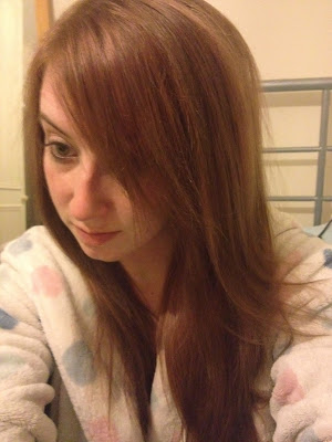 AFTER | Removing red hair dye with colour b4