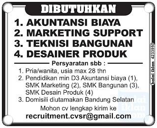 Lowongan Kerja di Bandung Selatan