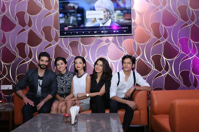 Star cast of PINK Movie at the opening of IQ The Lounge Bar at Mercure Hyderabad KCP-min