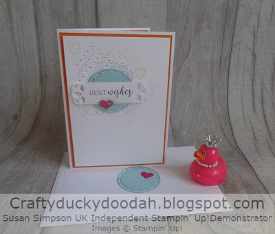 Craftyduckydoodah!, SBTD Blog Hop, Stampin' Up! UK Independent  Demonstrator Susan Simpson, Stitched All Around, Supplies available 24/7 from my online store,