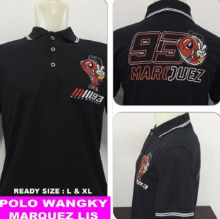 Baju Polo Marquez (Berkerah)