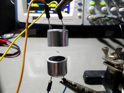 flutuador por ultra-som