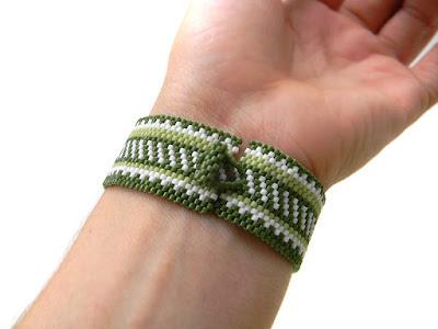 купить летний браслет из бисера фенечки хиппи украшения этника ру