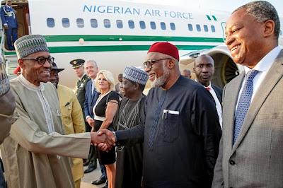 President Muhammadu Buhari Visits Netherland
