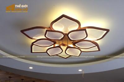 Thế Giới Đèn Gỗ - 8 mẫu đèn trang trí gỗ cho phòng ăn đẹp lung linh 18