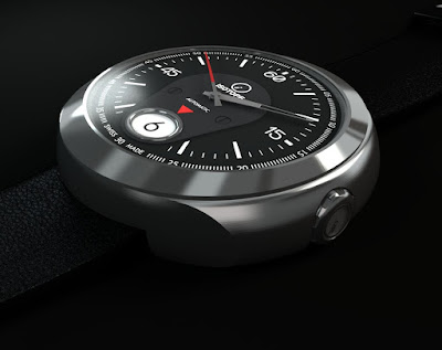 Isotope Rider Jumping-Hour automatic watch
