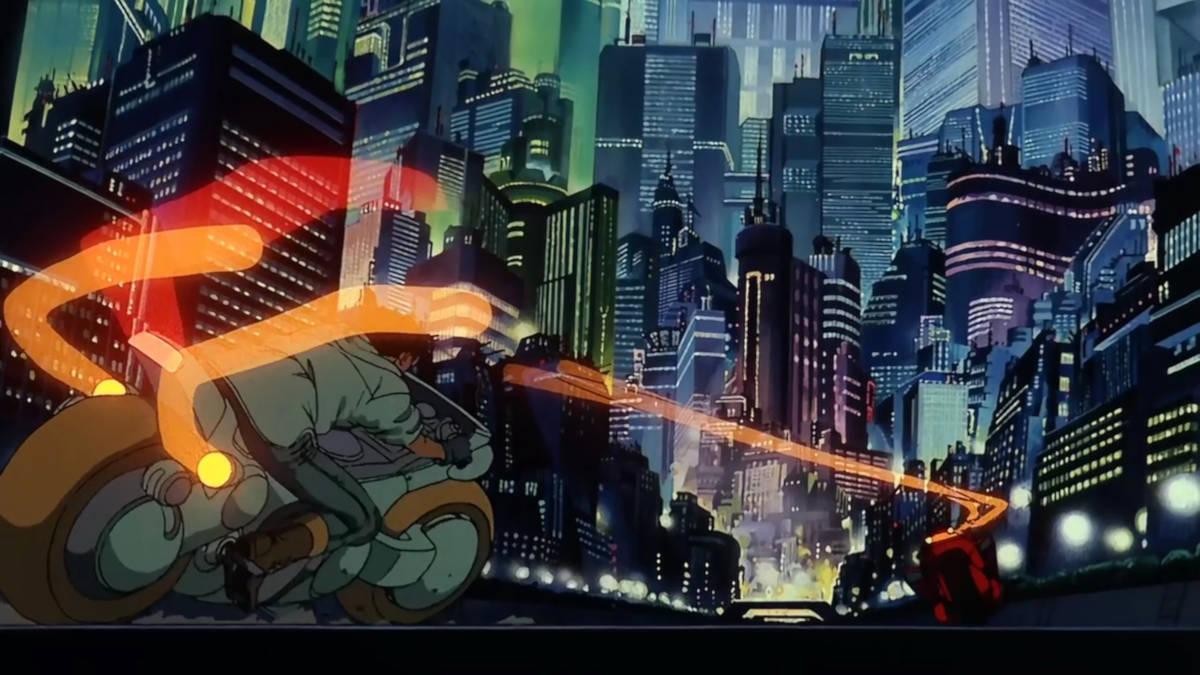 Screen z filmu Akira