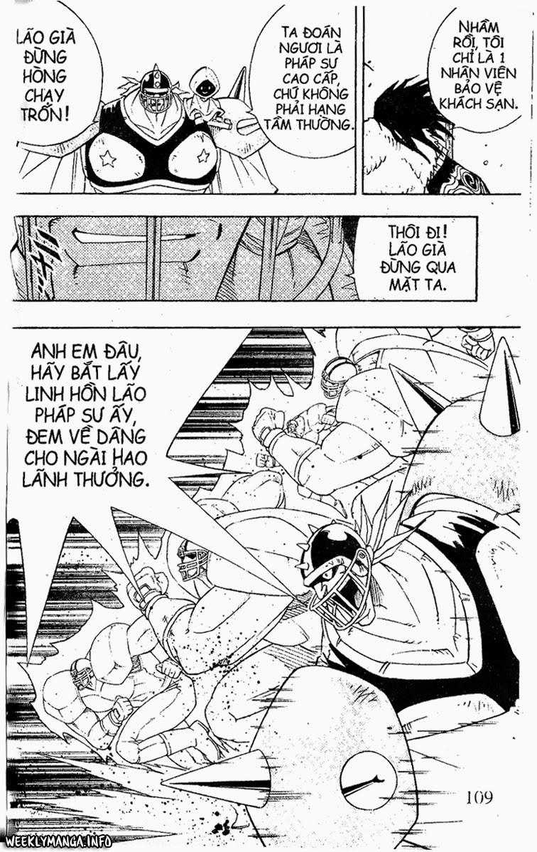 Shaman King [Vua pháp thuật] chap 183 trang 17