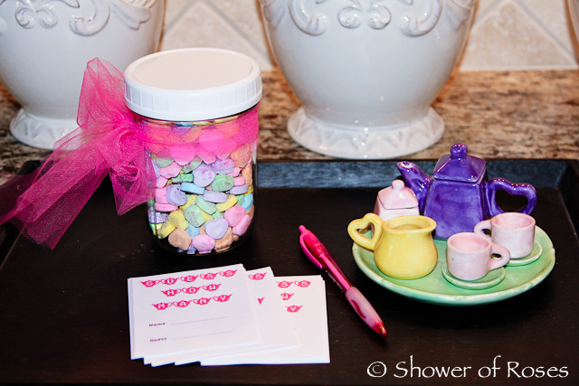 Little Flowers Girls Club Tea Party Games
