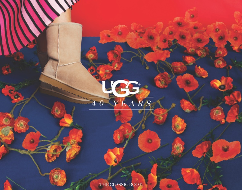 UGG 40th anniversary campaign