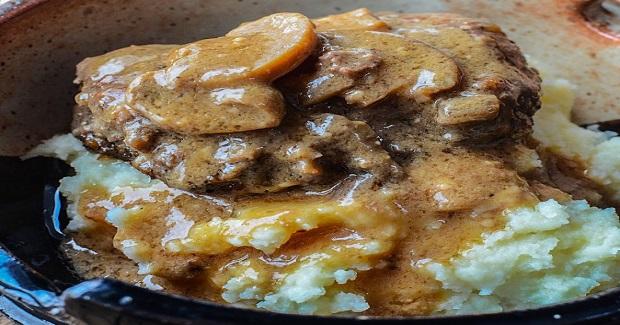Crock Pot Salisbury Steak Recipe