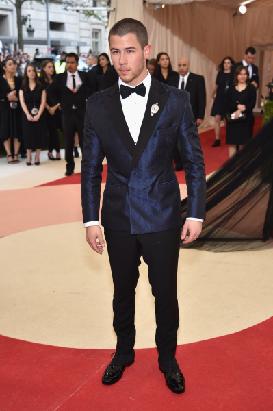 MET Gala 2016: Nick Jonas