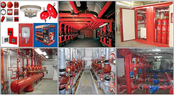 hệ thống phòng cháy chữa cháy hiện đại tại dự án 201 Minh Khai