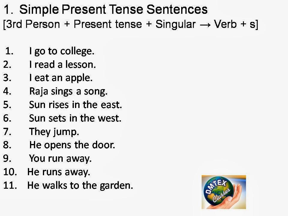 OMTEX CLASSES: TENSE