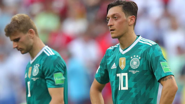 Jerman Kalah Di Kalahkan Oleh Korea Dengan Skor 0-2