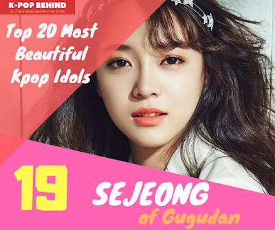 Kim Sejeong of Gugudan