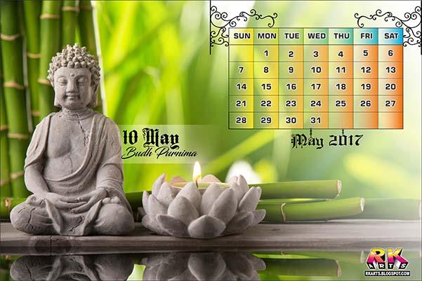 Holiday Calendar May 2017