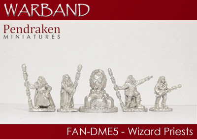 FAN-DME5   5 x Wizard Priests