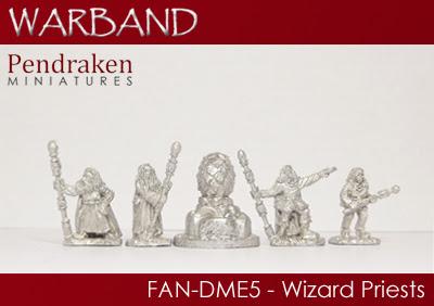FAN-DME5   5 x Wizard Priests