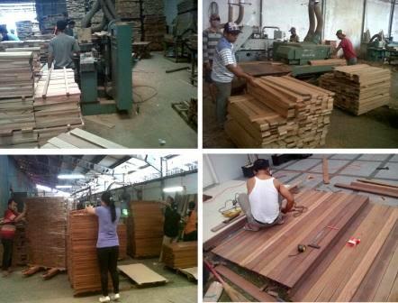Supply lantai kayu ke Surabaya