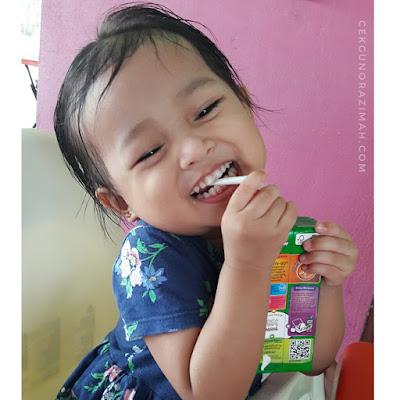 dhia zahra, dhia zahra 2 tahun, perangai anak kedua, menguji kesabaran