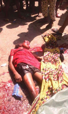dd Three Children Crushed To Death By Female Driver Who Suffered Brake Failure In Abia (Graphic Photos)