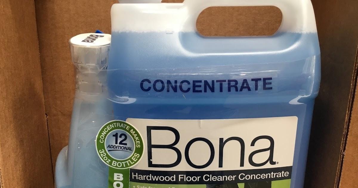 Bona Hardwood Floor Cleaner Concentrate 128 Oz Costco