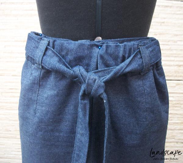 Corte e costura - calça clochard