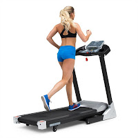 3G Cardio Lite Runner Treadmill, with high torque lower hp motor 2.5 hp, 0-12 mph speeds, 15% incline, 10 programs