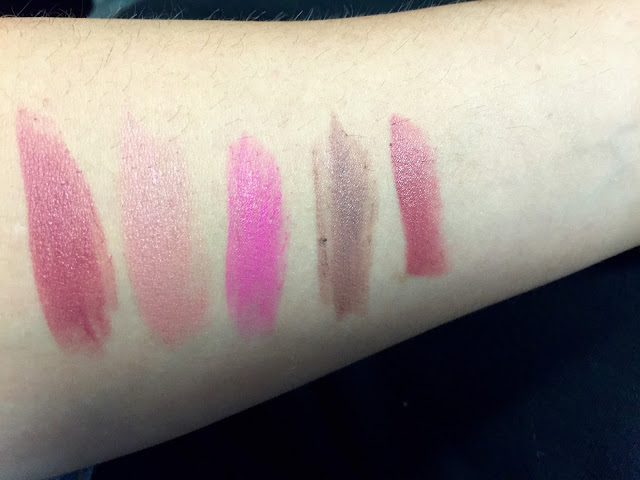 Gerard Cosmetics Swatches