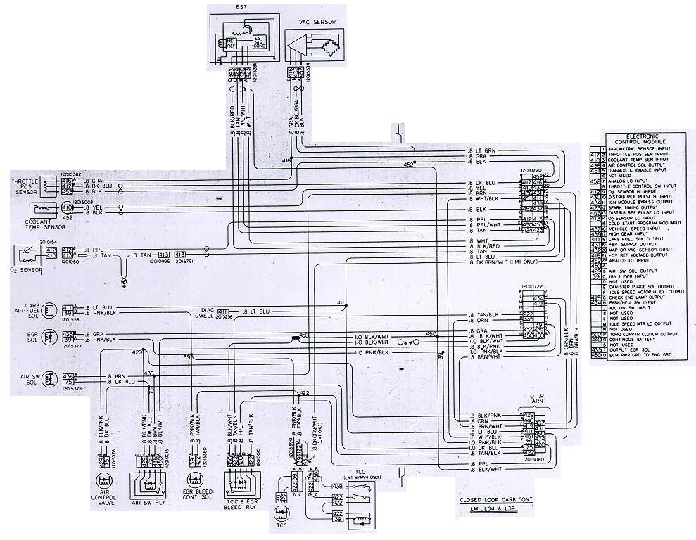 87 Camaro Alternator Wiring Diagram Electrical Circuit Electrical