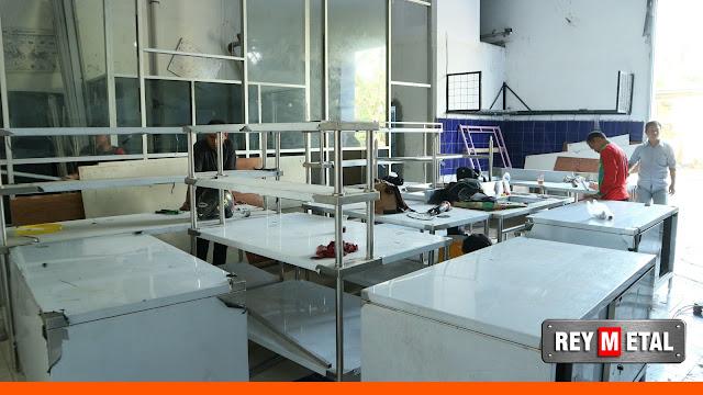 Jual Meja Stainless di Banten untuk Dapur Resto, Hotel, Catering dan Bakery