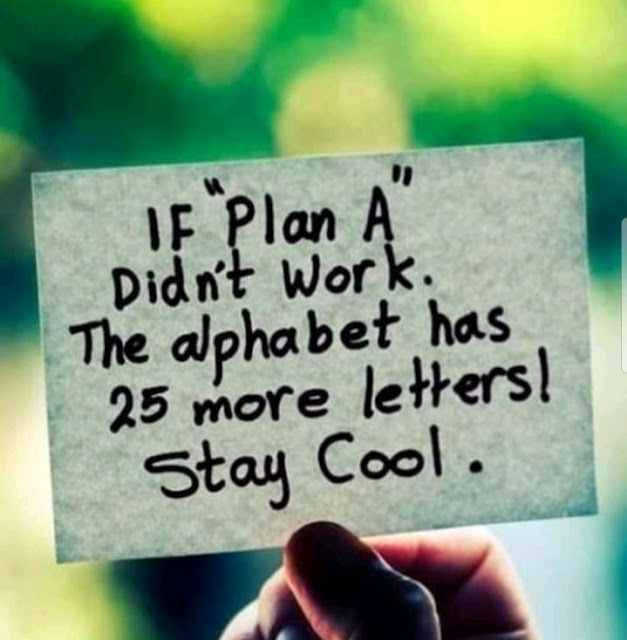 PLAN NEVER END UNLESS YOU STOP