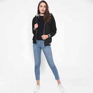 JAVA SEVEN SAG 230 Couple Sweater Wanita - Hitam