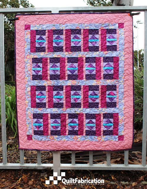Purple and Pink quilt