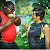 Couple Uses Cucumber and Watermelon in their Pre-wedding Photos