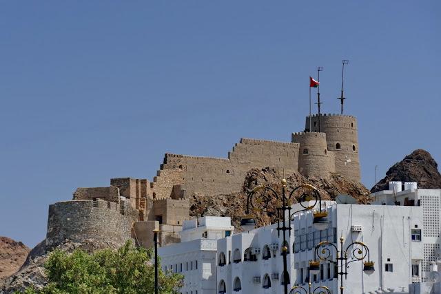Fort, Burg, Mutrah, Muscat, Oman