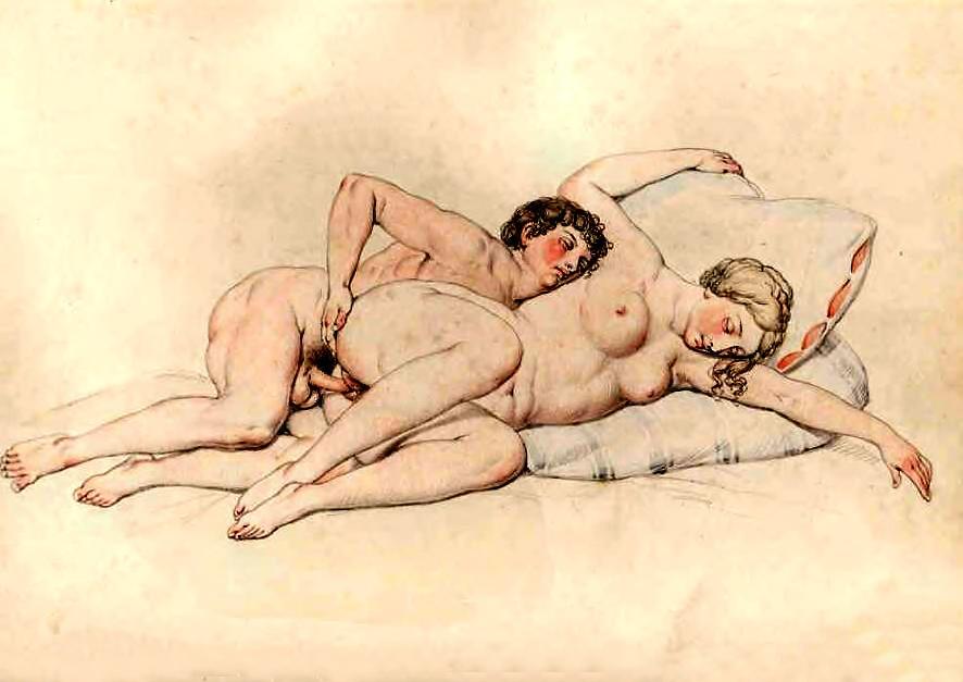 Эротика примитивный фривольная рисунок