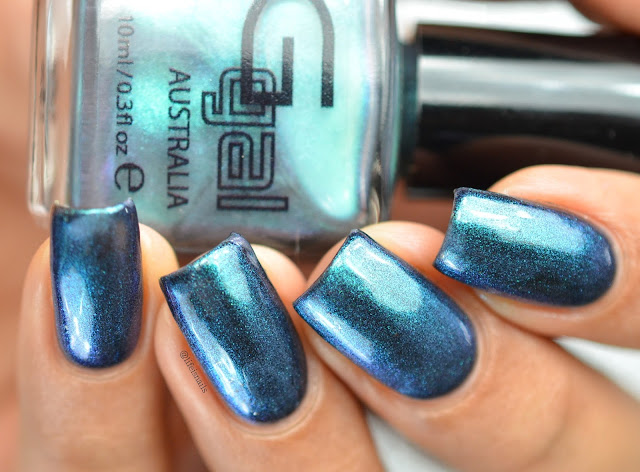 Glitter Gal Hell - Bent Blue