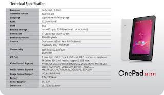 Tutorial Flash Tab ZYREX OnePad SA7321 via PC - Mengatasi Bootloop
