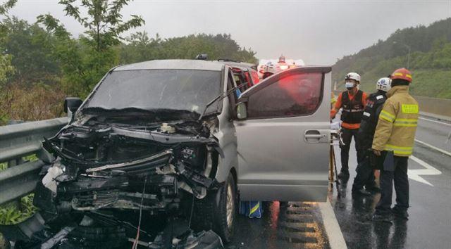 《超人回來了》製作組高速公路車禍 五人送醫治療