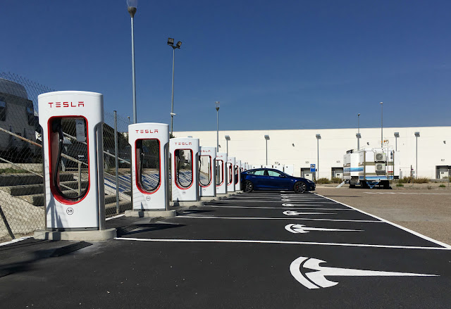 Tesla already has 15 supercharger stations in Spain