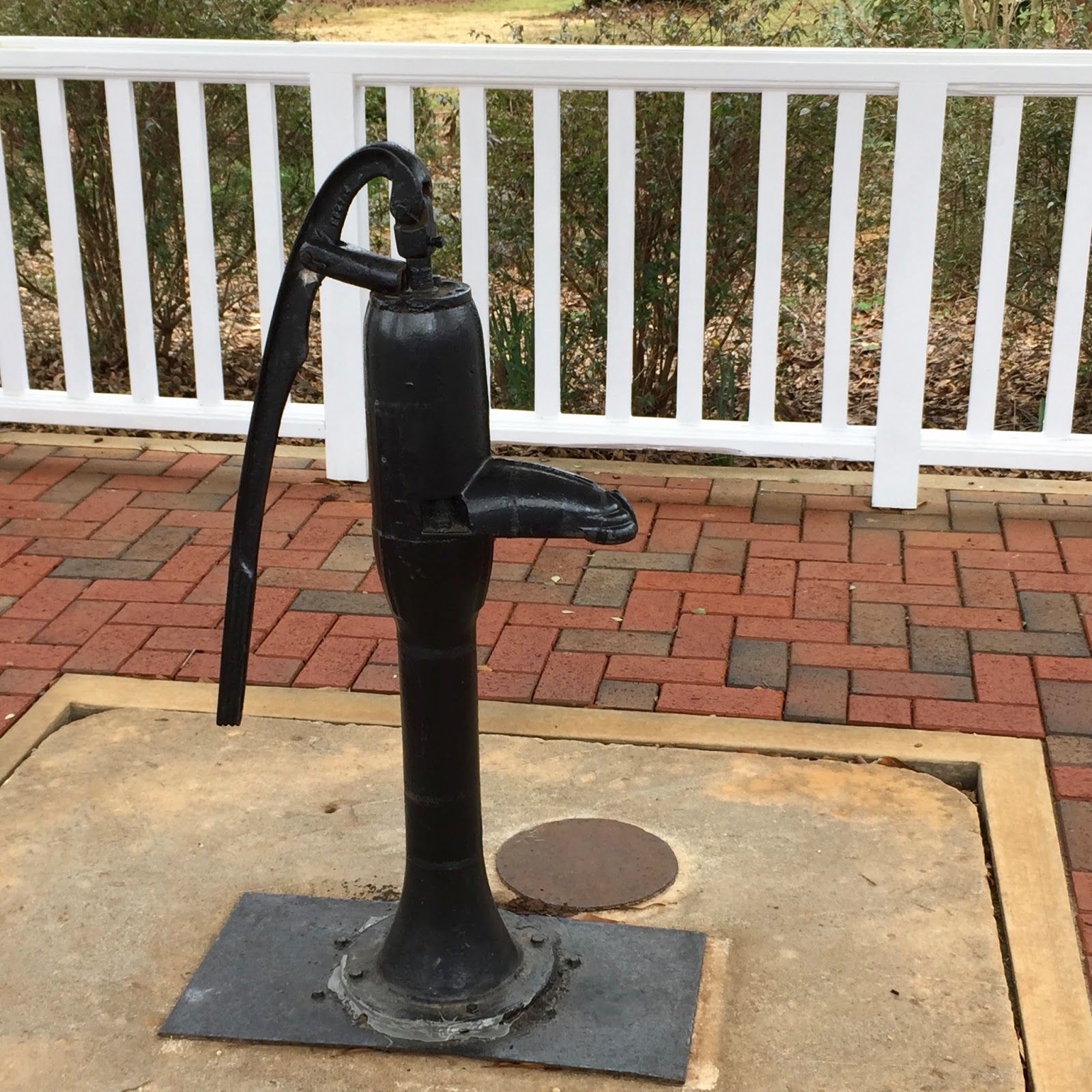 Helen Keller Water Pump